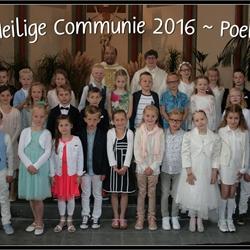1e Communie 2016