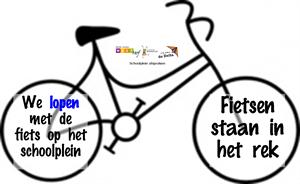 Schoolpleinafspraak fiets ©Verburch-hof