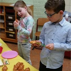 Paasontbijt en -speurtocht