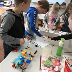 Groep 4 First lego league junior