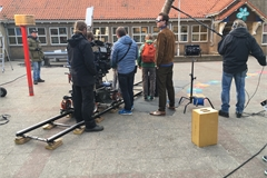 Filmopnames De Meesterspion