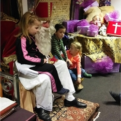 Bezoek Pietenhuis groep 1-2-3