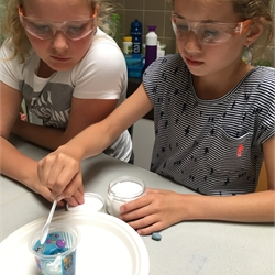 Mad science in groep 6