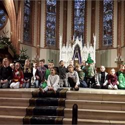 Kerstviering in de kerk