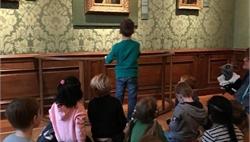 Bezoek Mauritshuis kleutergroepen