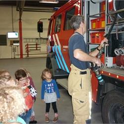 28-03-2018 Bezoek brandweerkazerne groep 1/2A