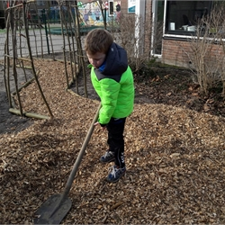 Groen leer- en speelplein
