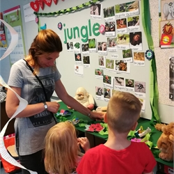 Afsluiting thema jungle