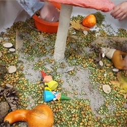 Kleuters ervaren en ontdekken de herfst