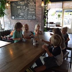 Bezoek Brasserie Family Treffers, groep 1/2b