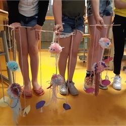 mei 2019 Talentmiddag: marionetten maken groepen 5 en 6