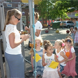 21-06-2017 Zomerfeest op het schoolplein