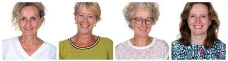 Laura Bos, Monique Groenewegen, Corine van der Knaap, Simone Spigt