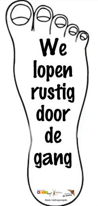 Loopregel ©Verburch-hof
